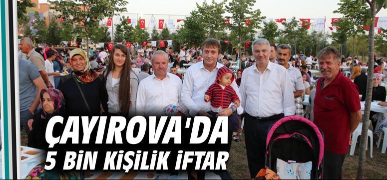 Çayırova'da 5 Bin Kişilik İftar