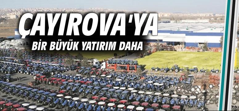 Çayırova'ya bir büyük yatırım daha
