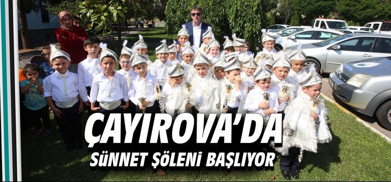 Çayırova'da Sünnet Şöleni Başlıyor