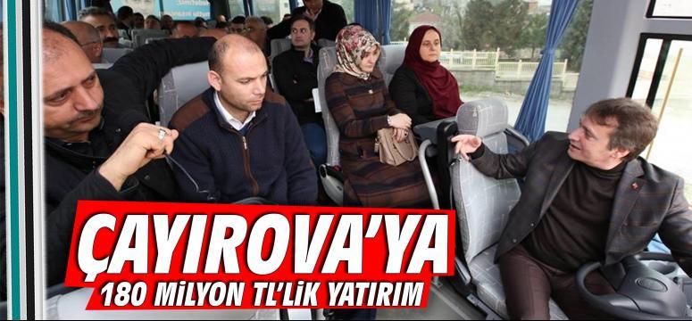 Çayırova'ya 180 Milyon TL'lik Yatırım