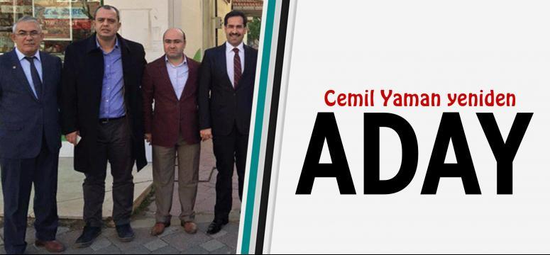 Cemil Yaman yeniden aday