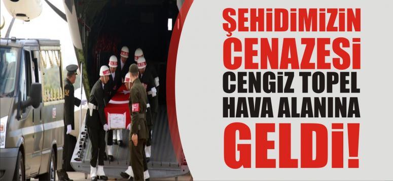 ŞEHiDiMiZiN CENAZESi GELDi!