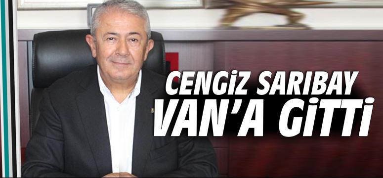 Cengiz Sarıbay Van'a gitti