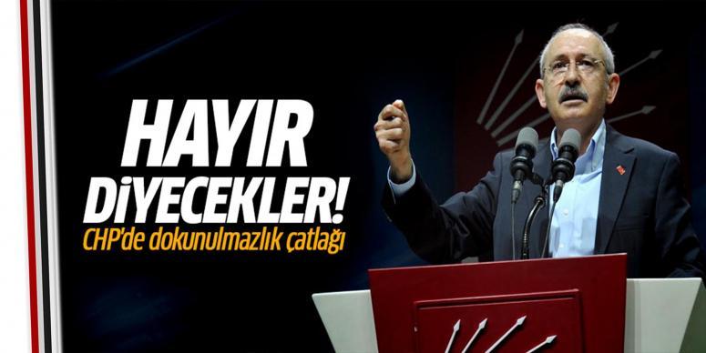 CHP'de dokunulmazlık krizi!