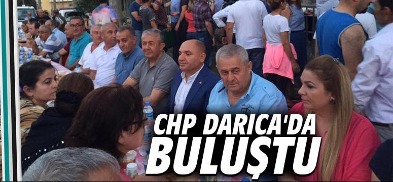 CHP Darıca'da buluştu
