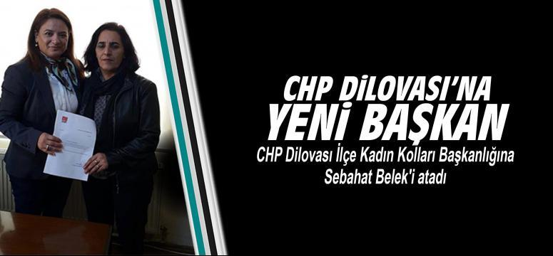 Chp Dilovası'na yeni başkan