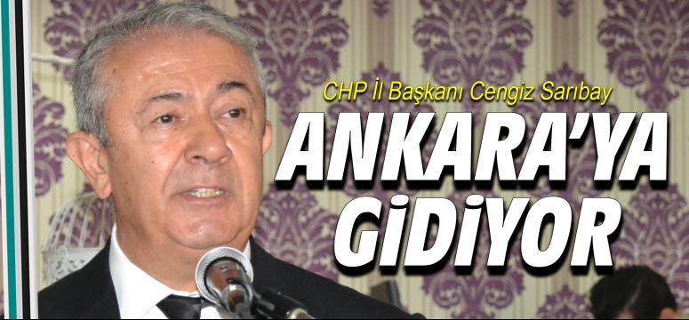 Cengiz Sarıbay Ankara'ya gidiyor