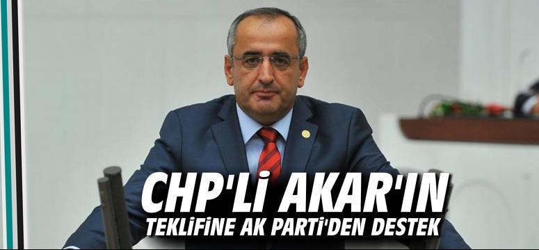Chp'li Akar'ın Teklifine Ak Parti'den Destek