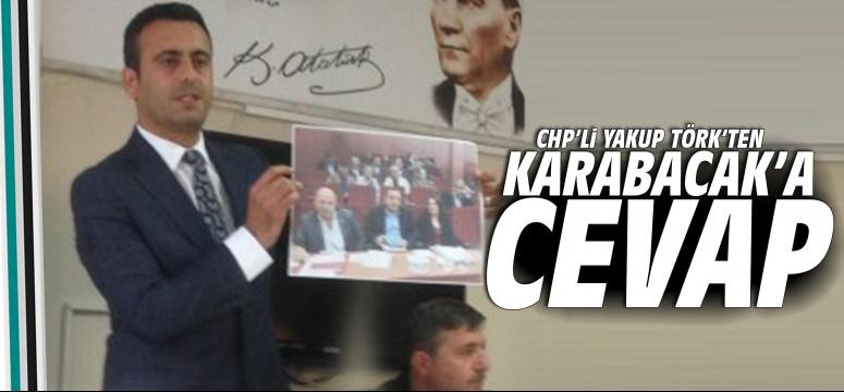 Chp'li Törk'ten, Karabacak'a Cevap