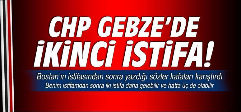CHP'de aynı gün içinde ikinci istifa