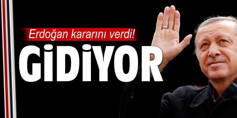 Cumhurbaşkanı Erdoğan gidiyor