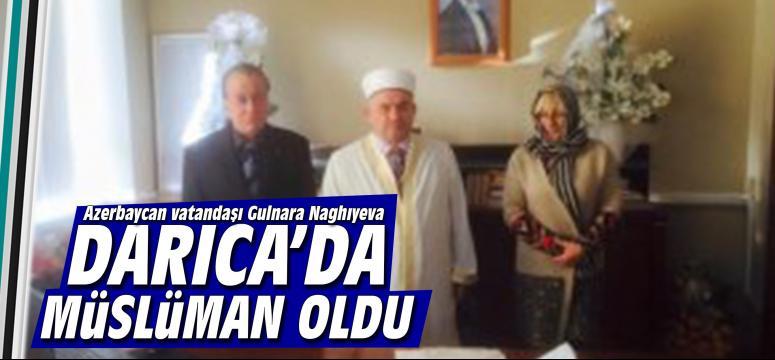 Darıca'da müslüman oldu