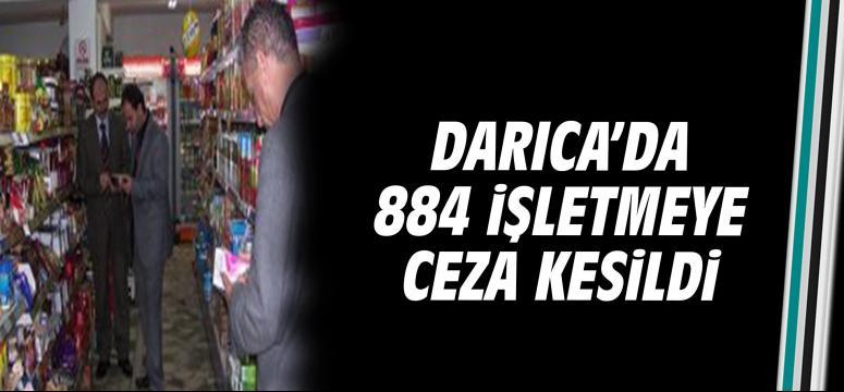 Darıca'da 844 işletmeye ceza kesildi