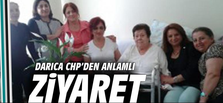 DARICA CHP'DEN ANLAMLI ZİYARET