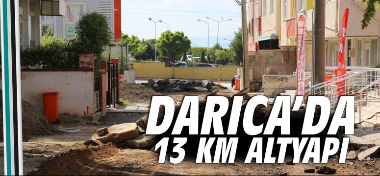 Darıca Abdi İpekçi Mahallesinde Altyapı Yenileniyor