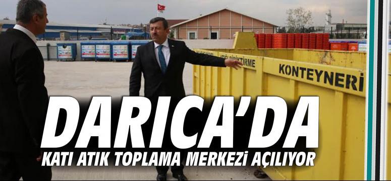 Darıca'da Katı Atık Toplama Merkezi Açılıyor