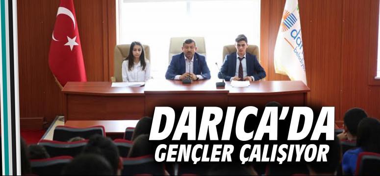 Darıca'da Gençler Çalışıyor