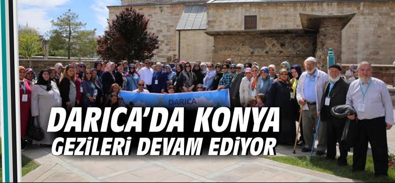 Darıca'da Konya Gezileri Devam Ediyor