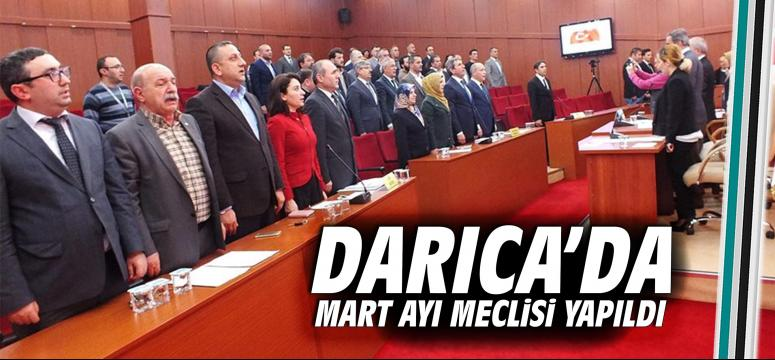 Darıca'da Mart ayı meclisi yapıldı