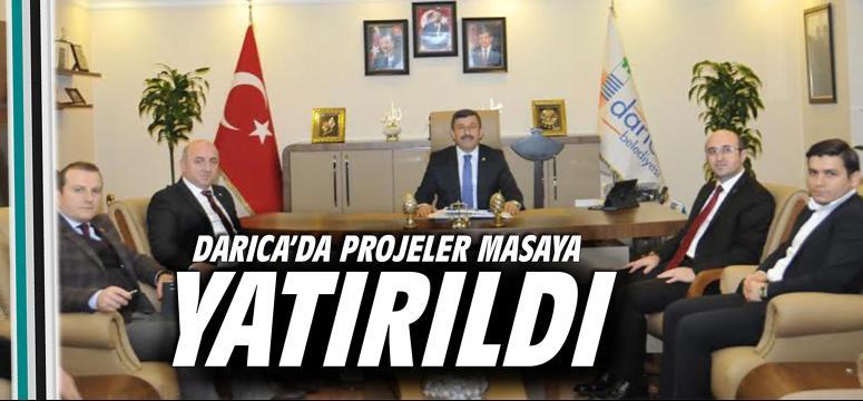 Darıca'da Projeler Masaya Yatırıldı