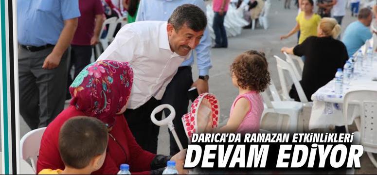 Darıca'da Ramazan Etkinlikleri Devam Ediyor