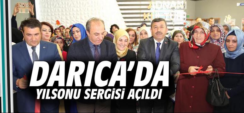 Darıca'da Yılsonu Sergisi Açıldı
