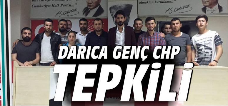 Darıca Genç CHP Tepkili
