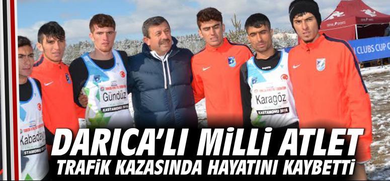 Darıca'lı Milli Atlet Trafik Kazasında Hayatını Kaybetti
