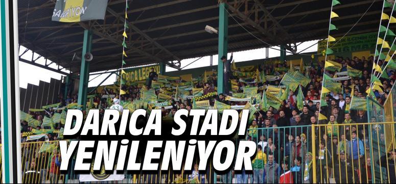 Darıca Stadı yenileniyor