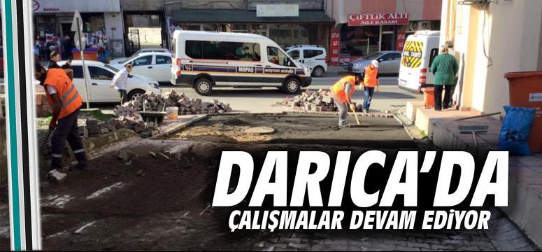 Darıca'da üst yapı çalışmaları devam ediyor