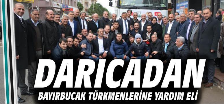 Darıcadan Bayırbucak Türkmenlerine Yardım Eli
