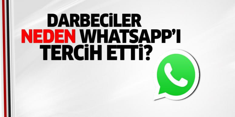 Darbeciler neden WhatsApp'ı tercih etti?