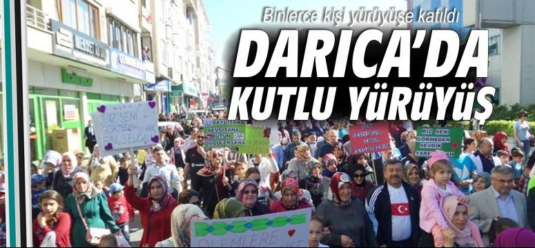 Darıca'da Kutlu Yürüyüş