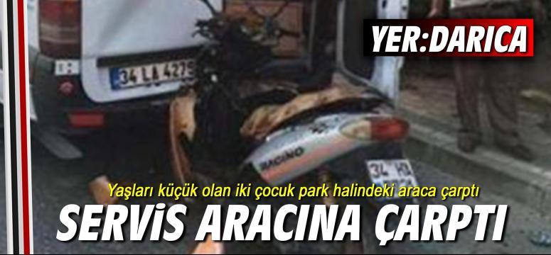 Darıca'da kaza: 2 yaralı