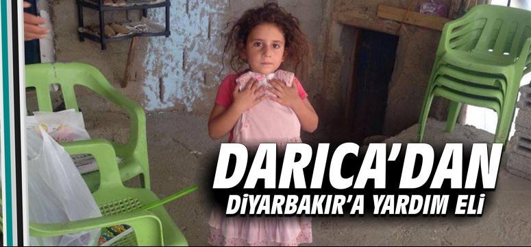 Darıca'dan Diyarbakır'a yardım eli