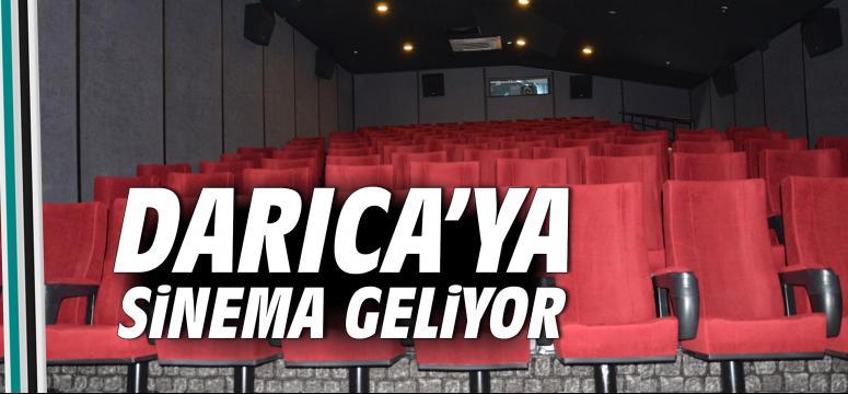 Darıca'ya sinema geliyor