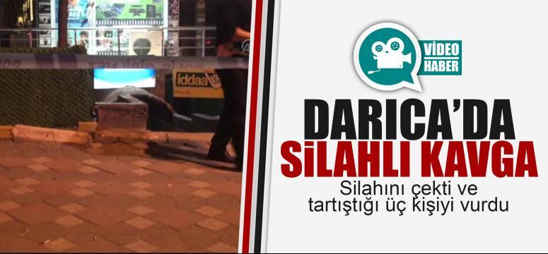 Darıca'da silahlı kavga! 3 kişi vuruldu