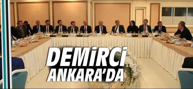 Demirci Ankara'da