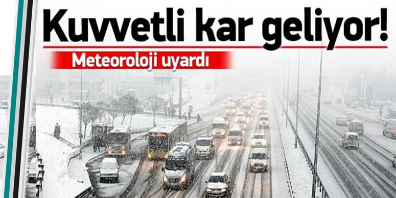 Dikkat: Kar yağışı geri geliyor