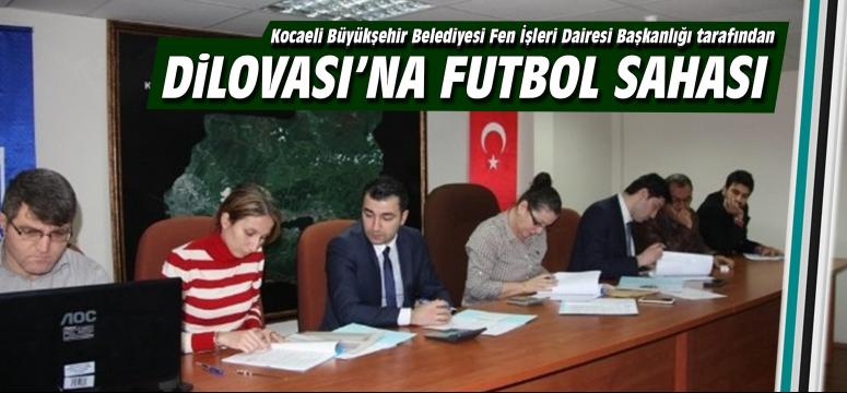 Büyükşehir'den Dilovası'na Futbol Sahası