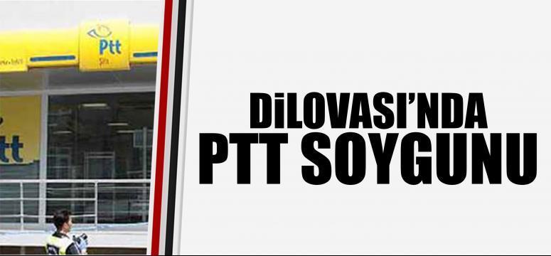 Dilovası'nda PTT soygunu