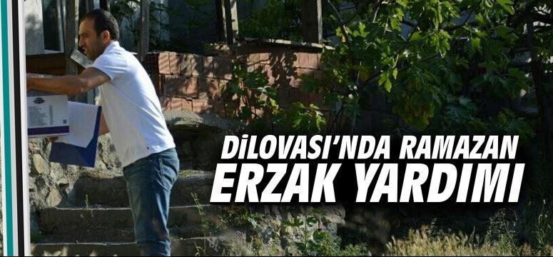 Dilovası'nda Ramazan Erzak Yardımı