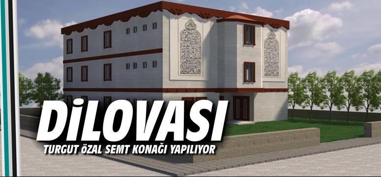 Dilovası Turgut Özal Semt Konağı Yapılıyor
