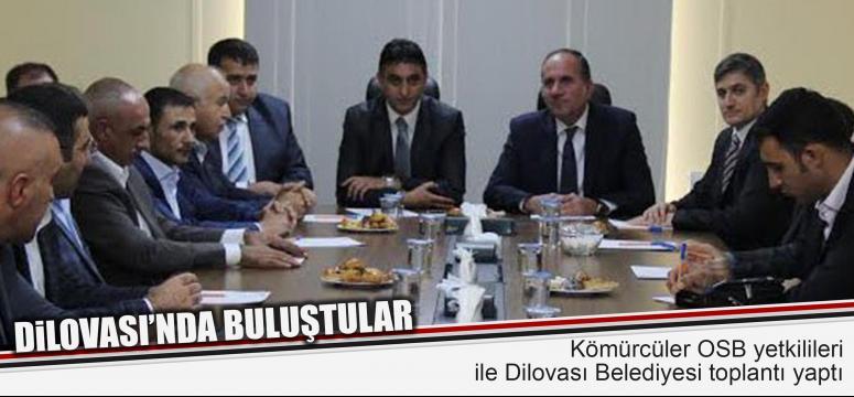 Dilovalılar Kömürcüler OSB ile buluştu