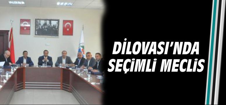 DİLOVASI'NDA SEÇİMLİ MECLİS