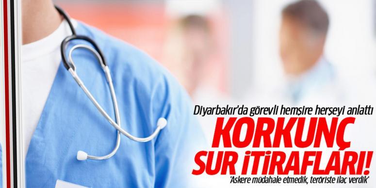 Diyarbakır'da görevli hemşireden Sur itirafları