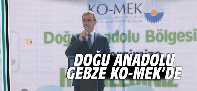 Doğu Anadolu, Gebze KO-MEK sergisinde buluştu