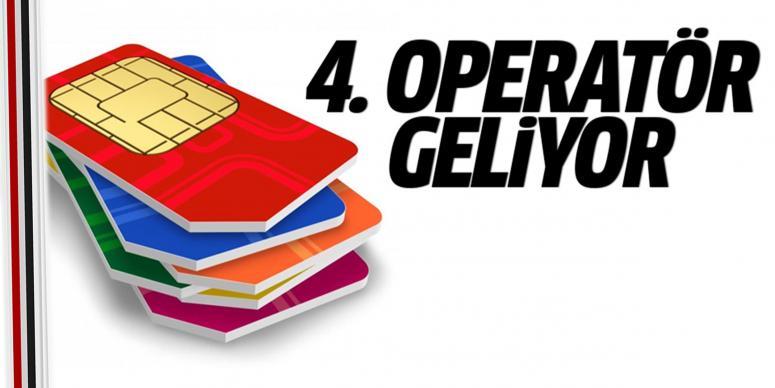 Dördüncü GSM operatörü geliyor