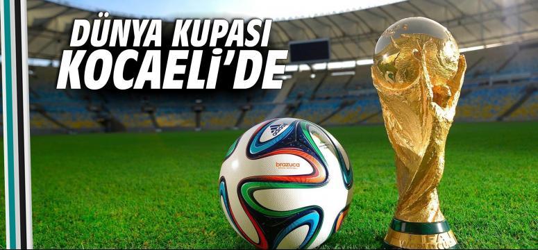 Dünya Kupası Kocaeli de start alıyor