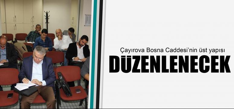 Çayırova Bosna Caddesi'nin üst yapısı düzenlenecek